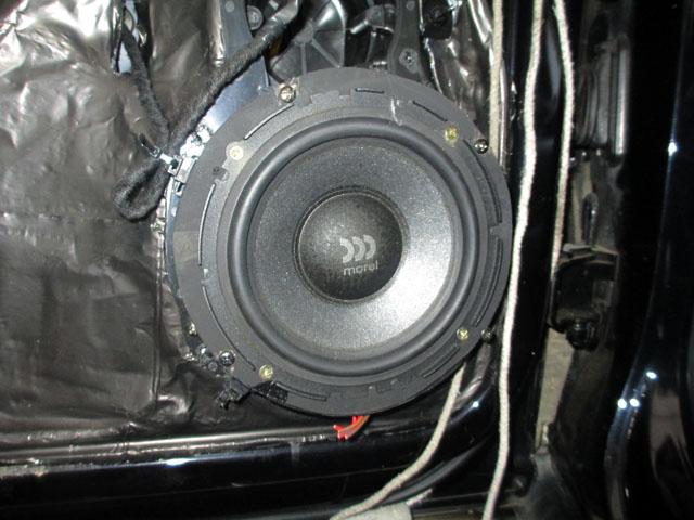 大众迈腾音响升级,改装摩雷音响,劲浪低音,cae隔音